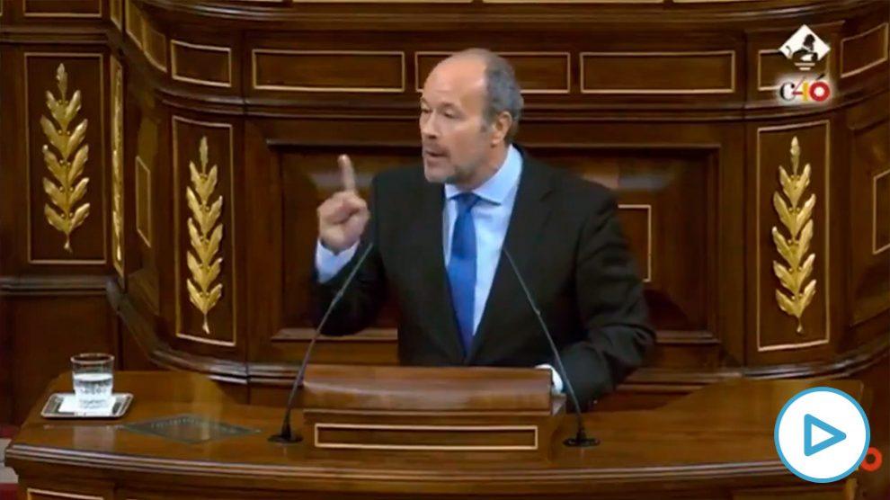 El nuevo ministro de Justicia, Juan Carlos Campo.