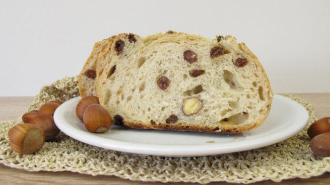 Receta de pan dulce de avellanas