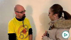 El CDR Germinal Tomàs Aubeso habla con OKDIARIO tras salir de prisión.