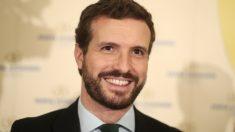 El líder del PP, Pablo Casado. Foto: EP
