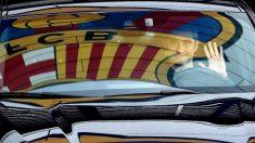 Ernesto Valverde, a su llegada al Camp Nou. (EFE)