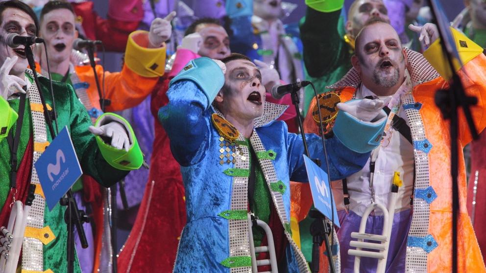 Las murgas son una parte muy importante en el carnaval chicharrero