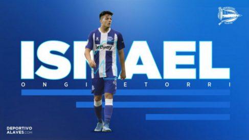 Ismael Gutiérrez, nuevo fichaje del Alavés (Deportivo Alavés)