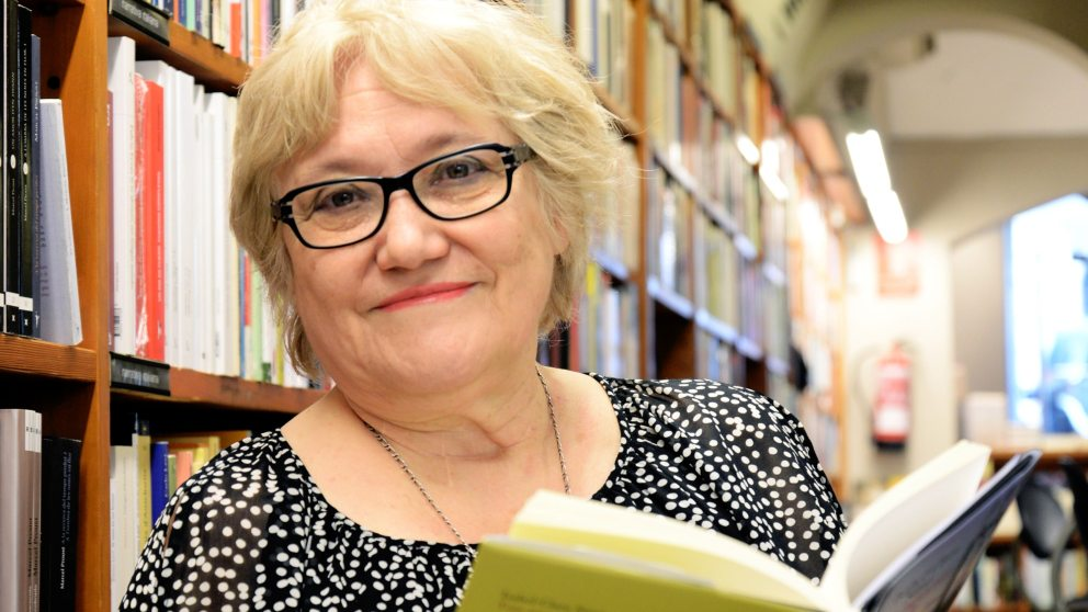 La escritora Isabel-Clara Simó. Foto: EP