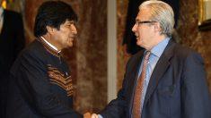 Evo Morales y Baltasar Garzón (Foto: EP)