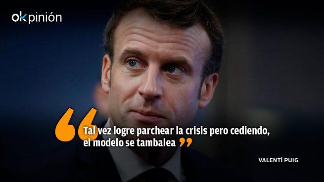 El modélico Macron