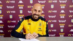 Pepe Reina ficha por el Aston Villa. (Aston Villa)