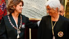 Dolores Delgado y María José Segarra.