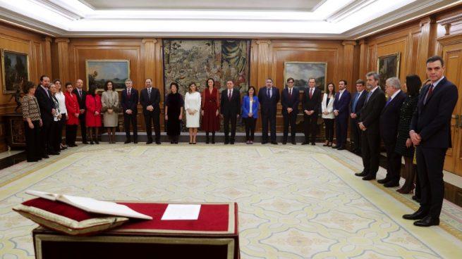 Toma de posesión del Gobierno de PSOE y Podemos. (Foto. EP)