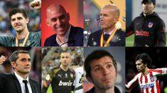 Los vencedores y vencidos de la Supercopa de España.