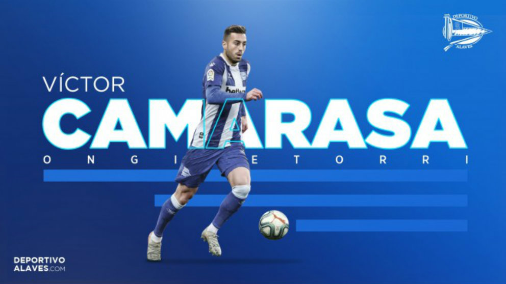 Víctor Camarasa, nuevo fichaje del Alavés (Deportivo Alavés)