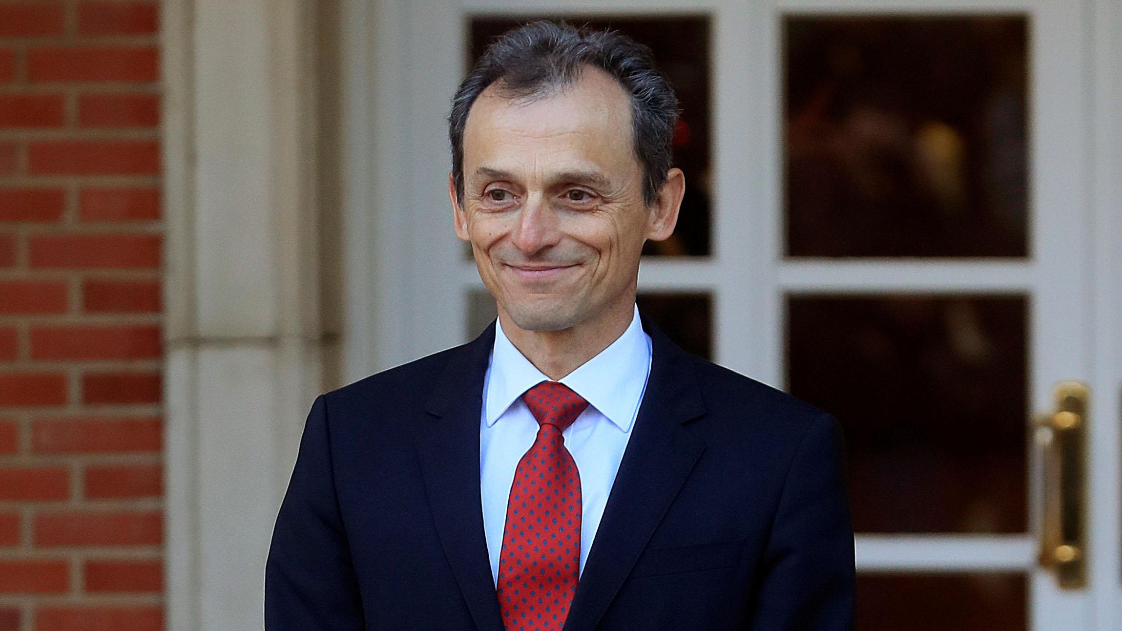Pedro Duque, ministro de Ciencia. (Foto: Francisco Toledo)