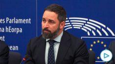 Abascal sobre la situación de Puigdemont y Comín como eurodiputados