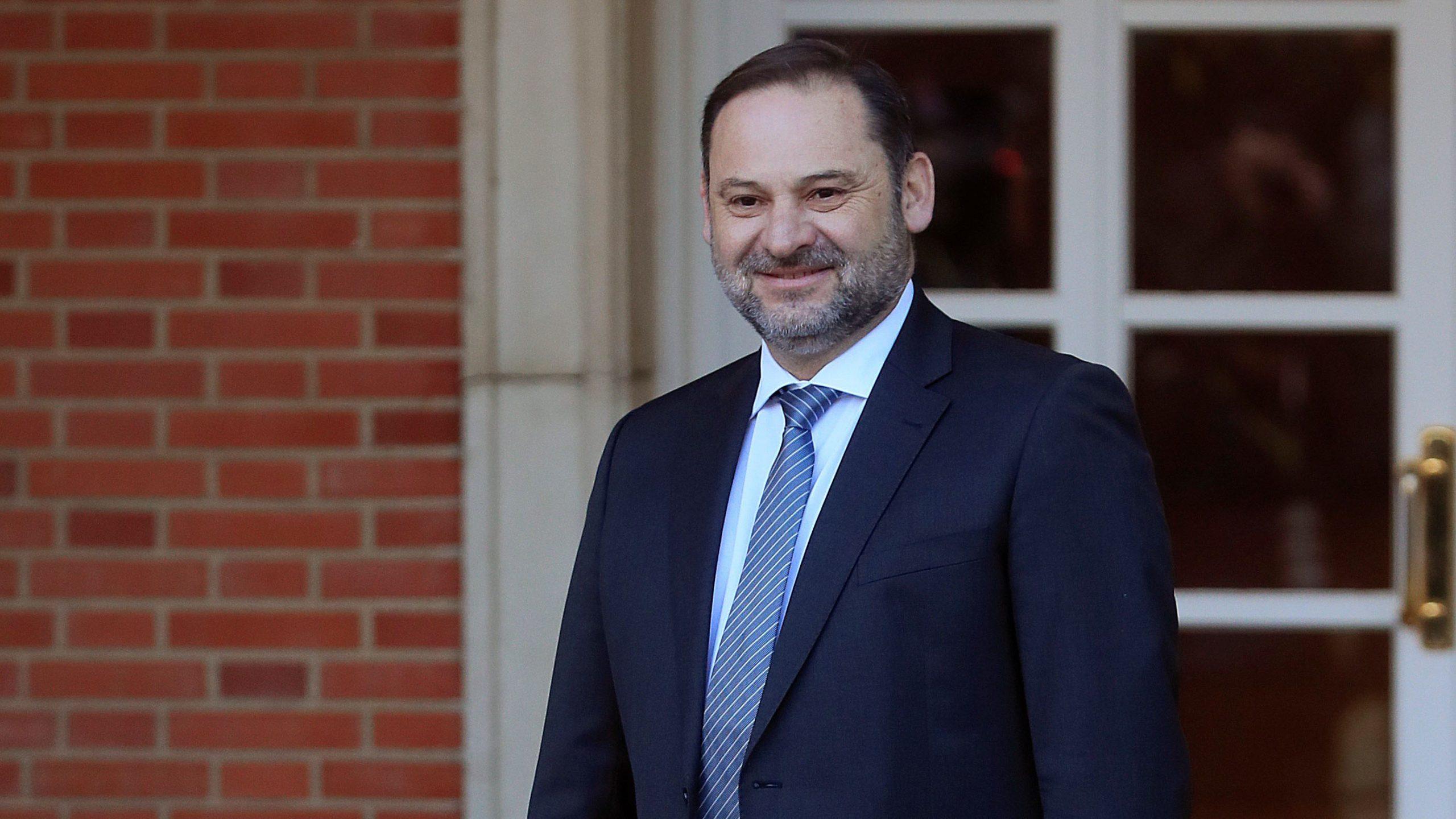 José Luis Ábalos, Ministro de Transporte. (Foto: Francisco Toledo)