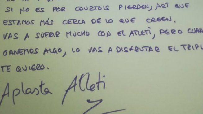 Carta del tuitero 'Aris de Burgos' a su hij