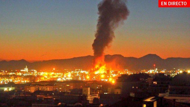 Explosión en la petroquímica de Tarragona hoy, última hora en directo