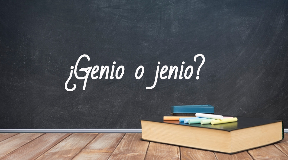 Se escribe genio o jenio