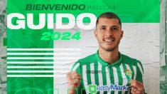 Guido Rodríguez, nuevo fichaje del Betis. (Real Betis)