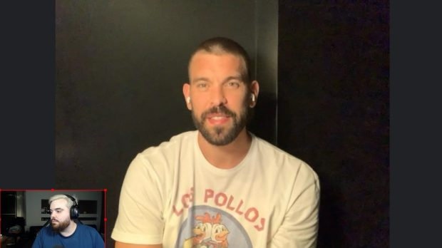 Marc Gasol announced his signing for the Lakers in an interview with Ibai Llanos