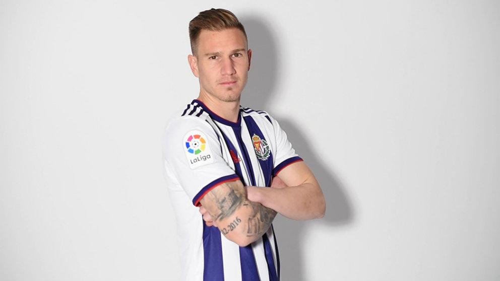 Raúl García Carnero, nuevo jugador del Valladolid. (Real Valladolid)