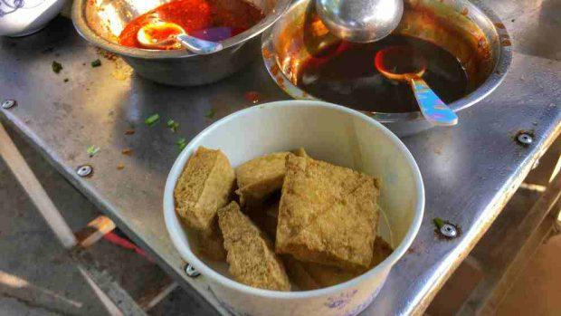 Snack de tofu