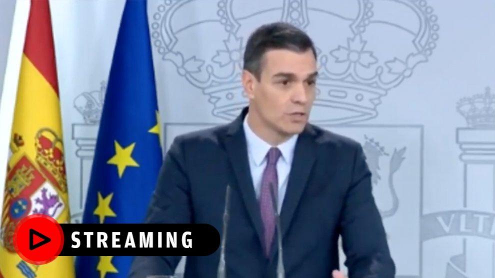 Sánchez comparece tras la primera reunión del Consejo de Ministros