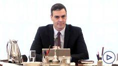 El presidente del Gobierno, Pedro Sánchez, durante el primer consejo de ministros del Gobierno de coalición del PSOE y Unidas Podemos en la XIV Legislatura. (Foto: Europa Press).