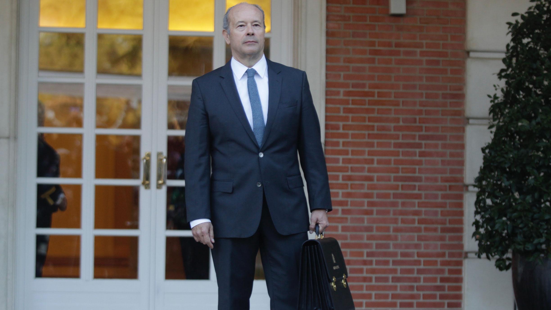 Juan Carlos Campo, ministro de Justicia. (Foto: Francisco Toledo)