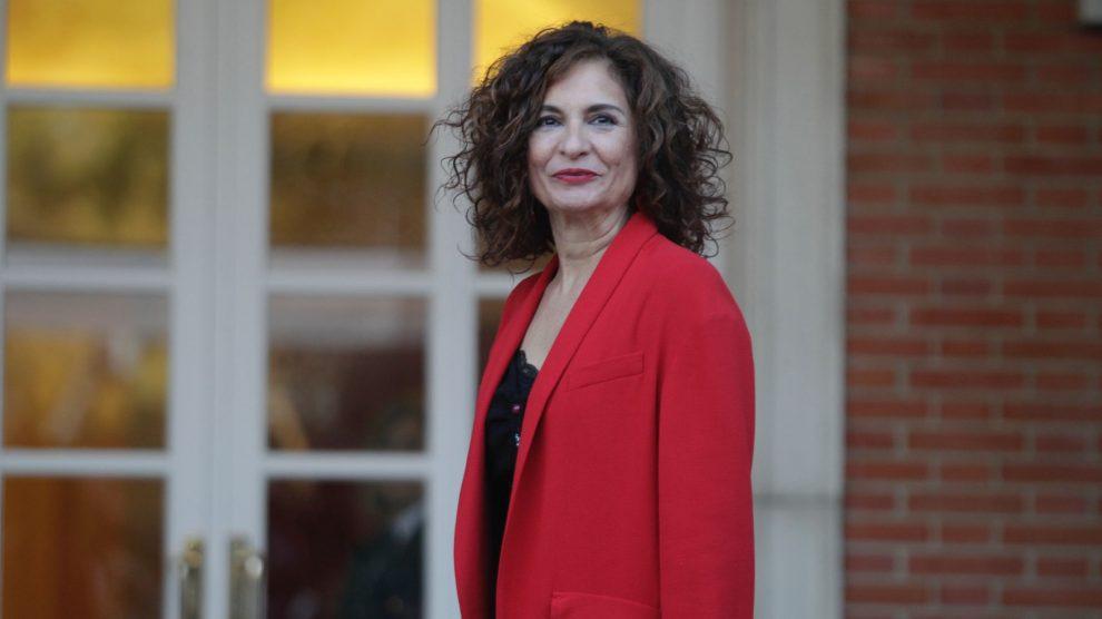 María Jesús Montero, Ministra de Hacienda. (Foto: Francisco Toledo)