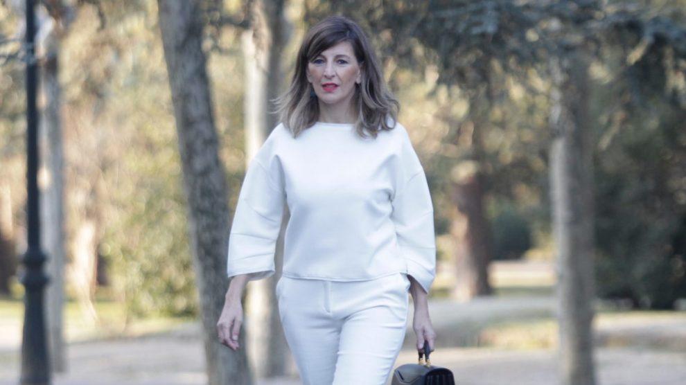 Yolanda Díaz, Ministra de Trabajo. (Foto: Francisco Toledo)