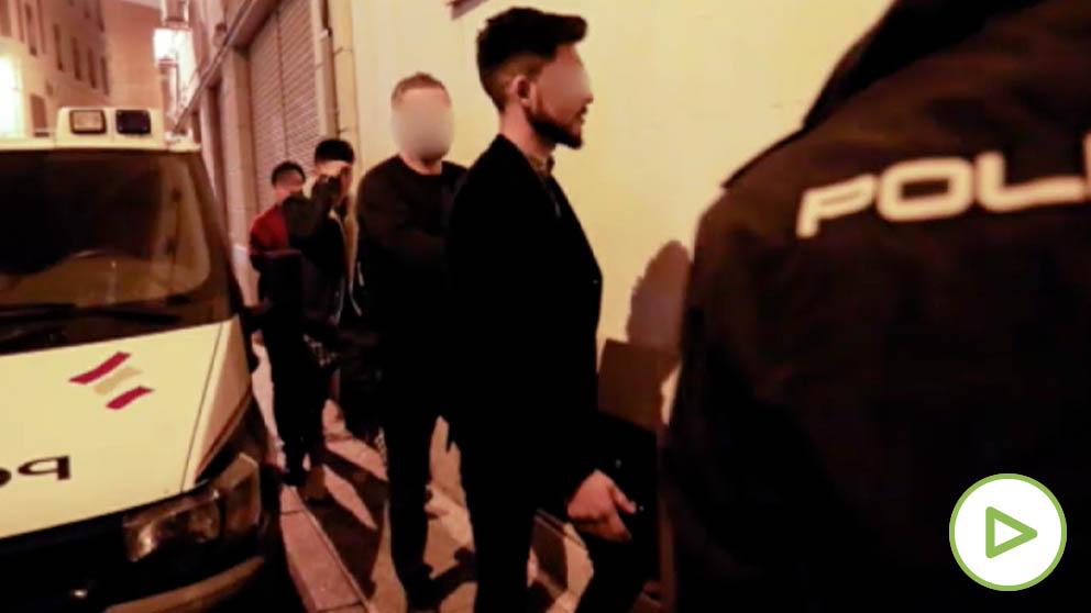 Los estudiantes afganos acusados de violar a tres estadounidenses en Murcia.
