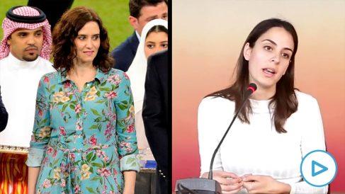 Isabel Díaz Ayuso y Rita Maestre