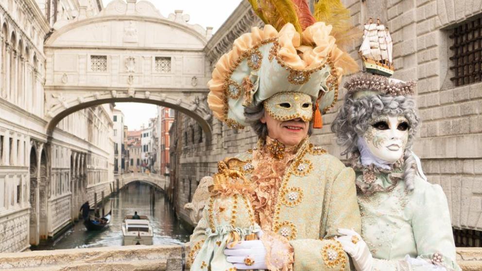 El Carnaval de Venecia es uno de los más elegantes del mundo