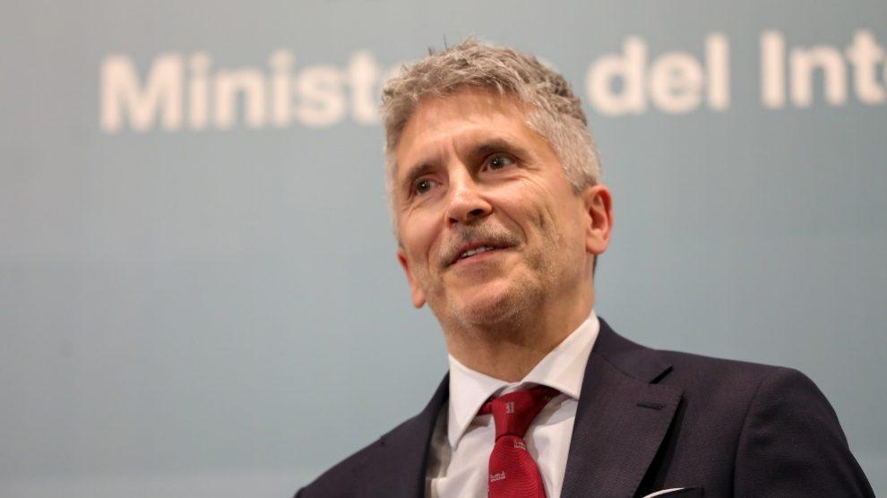 El ministro del Interior, Fernando Grande-Marlaska. Foto EP