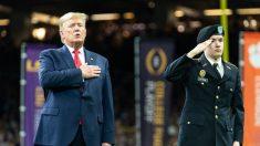 El presidente de Estados Unidos, Donald Trump. Foto: EP