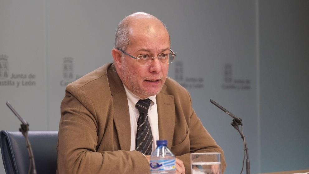 El vicepresidente de la Junta de Castilla y León, Francisco Igea. (Foto: EP)