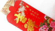 Los sobres rojos con dinero son un clásico en el Año Nuevo chino