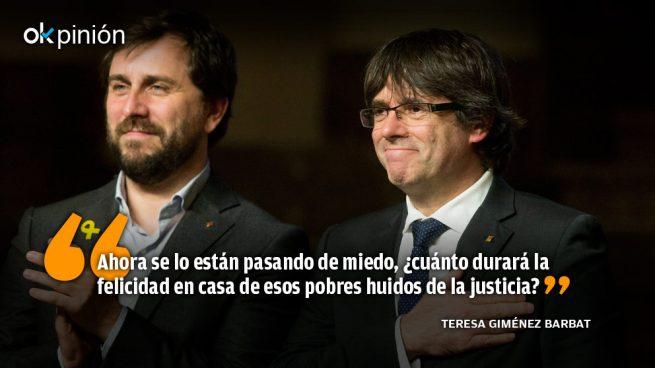 Pixi Puigdemont y Dixi Comín