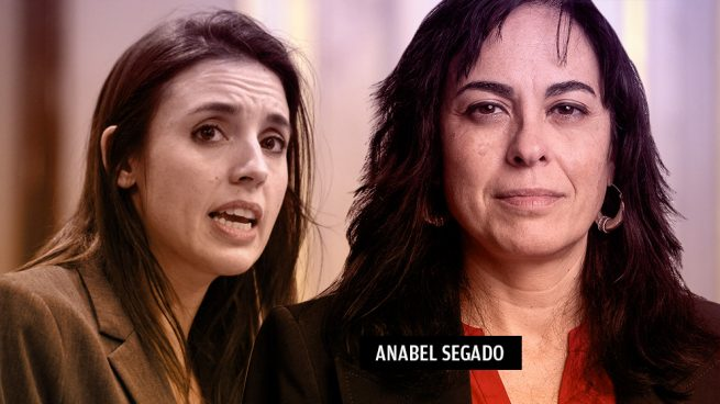 Irene Montero y Anabel Segado, abogada de la escolta y cargo del PCE