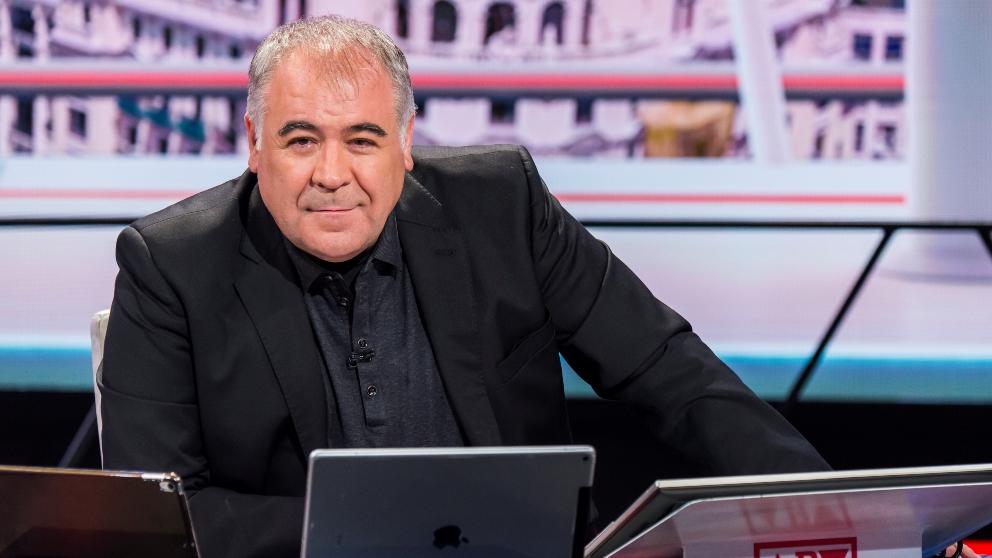 Antonio García Ferrera recibe a Irene Montero en 'Al rojo vivo'