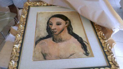 'Cabeza de mujer joven' (1906) Pablo Picasso @EFE