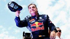 Carlos Sainz, durante una etapa del Dakar 2020. (GettyImages)