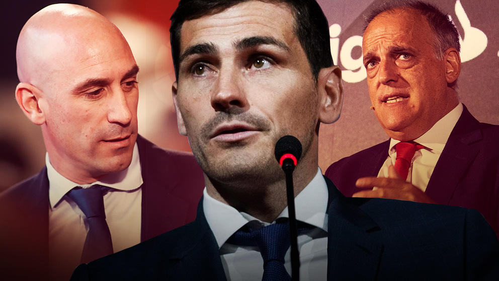 Casillas sopesa presentarse a la presidencia de la Federación empujado por Tebas.