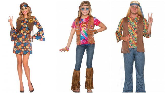 disfraz de hippie para Carnaval