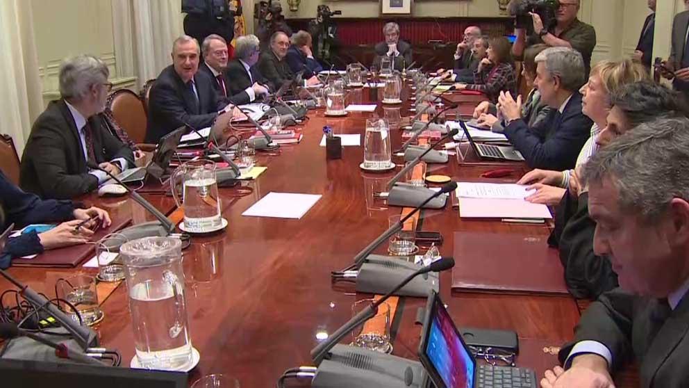 Reunión del CGPJ. (Foto: Europa Press.