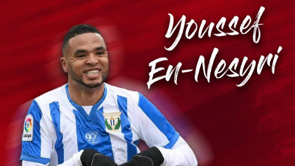 Youssef En-Nesyri, nuevo fichaje del Sevilla (Sevilla Fútbol Club)