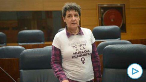 La nueva directora del Instituto de la Mujer, Beatriz Gimeno.