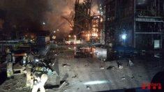 Incendio en la petroquímica de Tarragona. Foto: EP