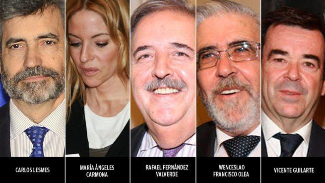 Los 5 vocales del CGPJ que votaron contra el partido que les aupó y contra la independencia judicial