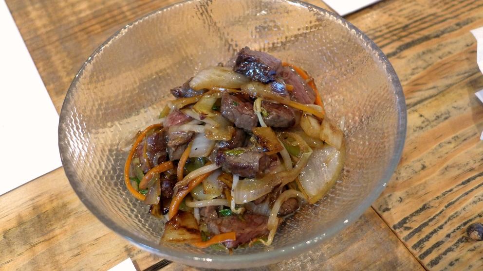 Receta de Ternera en salsa de ostras